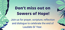 Sowers of Hope banner