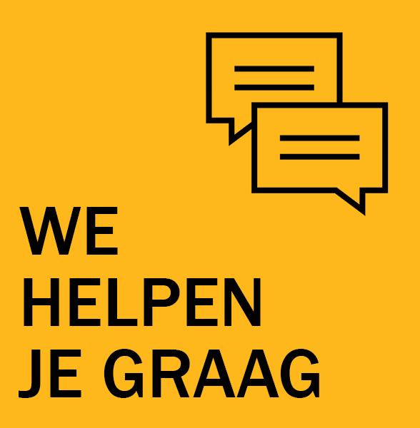 We helpen je graag!