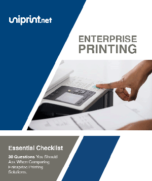 29 Questions to ask when comparing enterprise printing solutions.