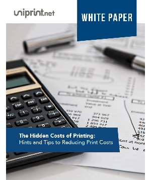 Why Print Management: The Hidden Costs of Printing
