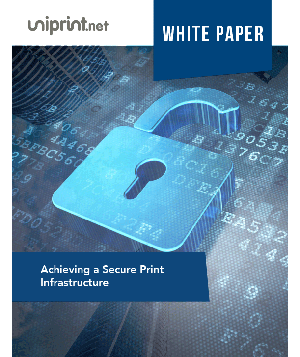 How to Achieve A Secure Print Infrastructure