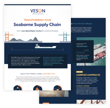 seaborne supply chain infographic