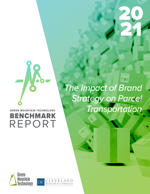 Cover of the 2021 GMT Parcel Benchmark Report