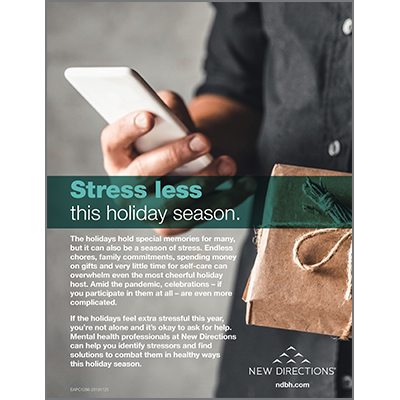 Stress Less Poster