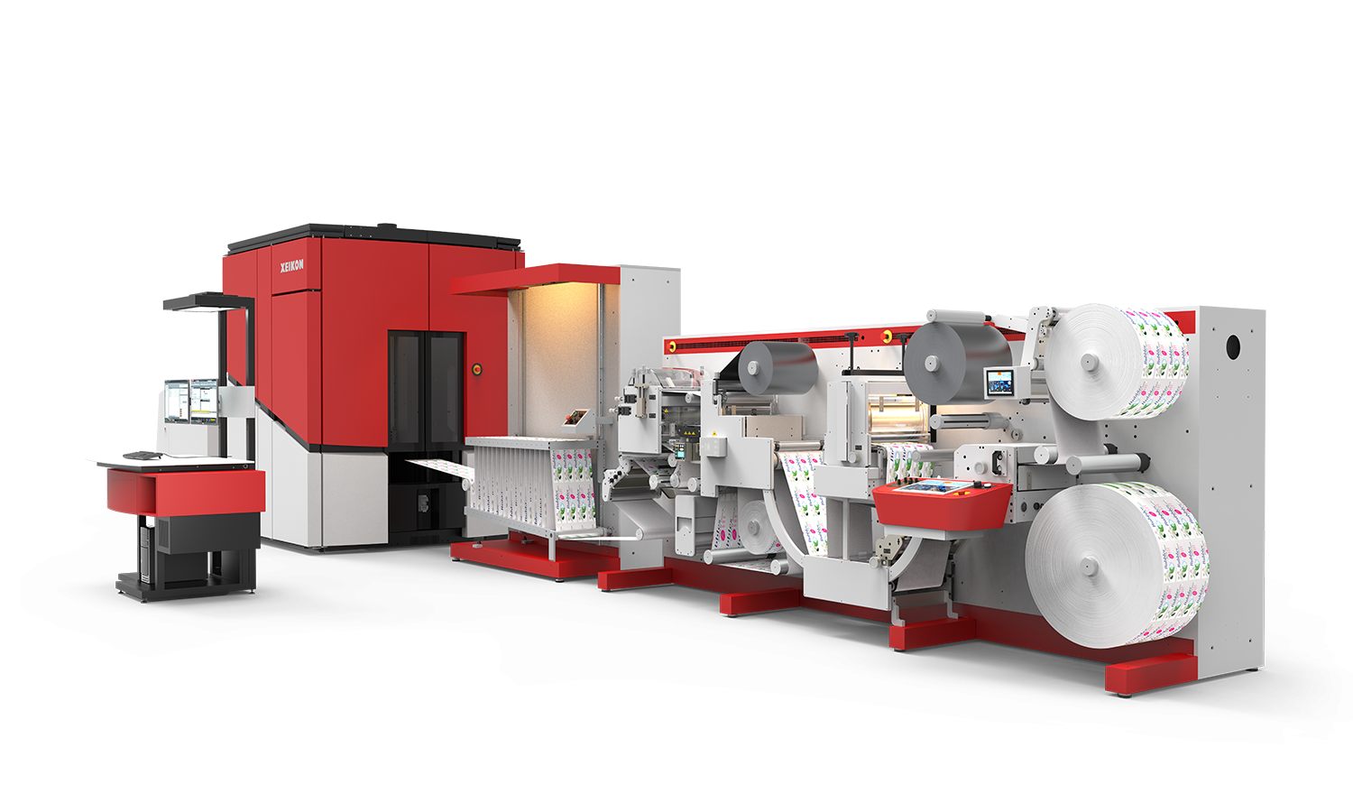Xeikon Self-Adhesive Label Suite