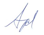Syd Kitson Signature