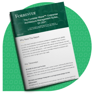 Rapport Forrester Wave - Solution de gestion d'architecture d'entreprise