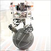 Embedded World 2016: Ballbot am Hitex-Messestand