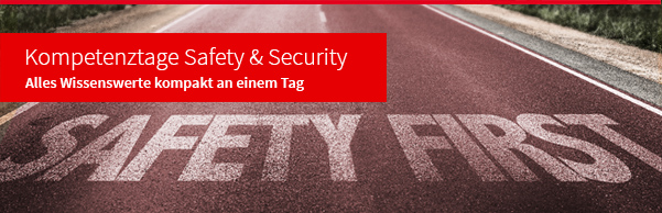 Kompetenztage Safety & Security