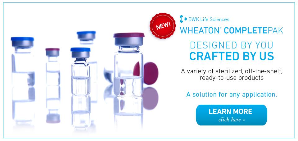 CompletePAK vial kits