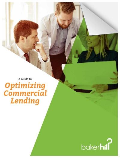 Optimizing Commercial Lending Cover