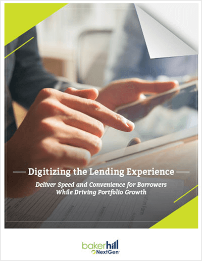Baker Hill NextGen Online Lending eBook
