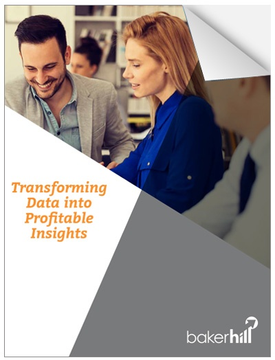 Transforming Data into Profitable Insights cover