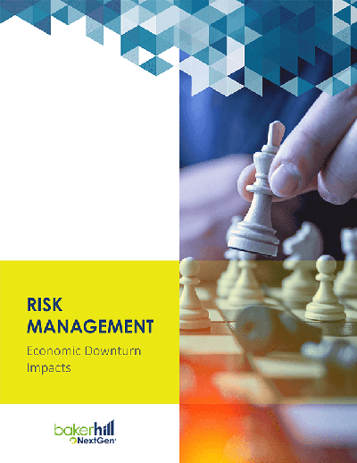 Risk Management Economic Downturn Impacts Cover