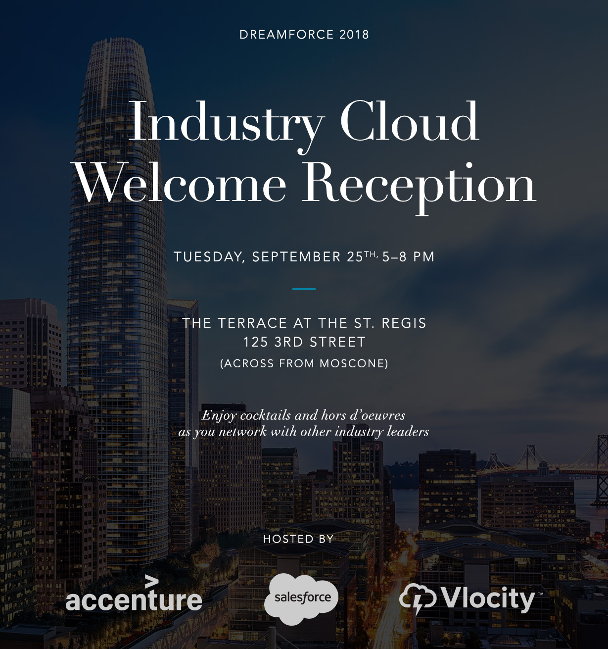 Dreamforce 2017 Industry Cloud Welcome Reception