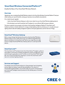 SmartCast Wireless Connected Platform Sales Sheet