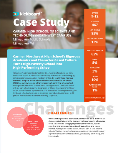 Carmen High School Case Study