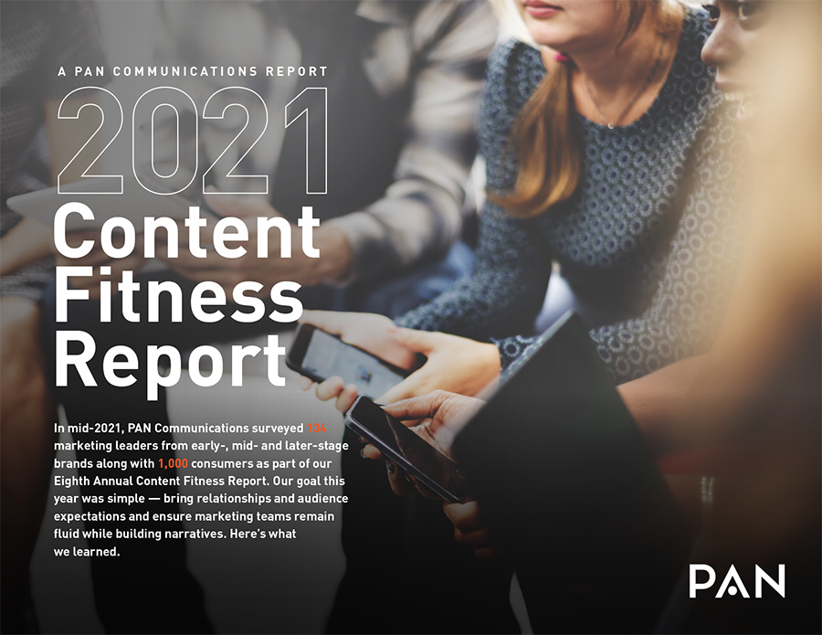 2021 Content Fitness Report | PAN Communications