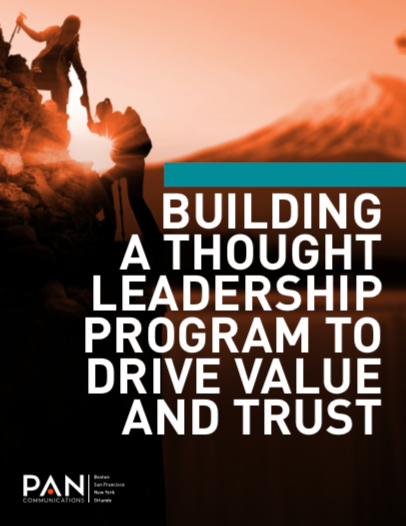 Building a Thought Leadership Program to Drive Value and Trust