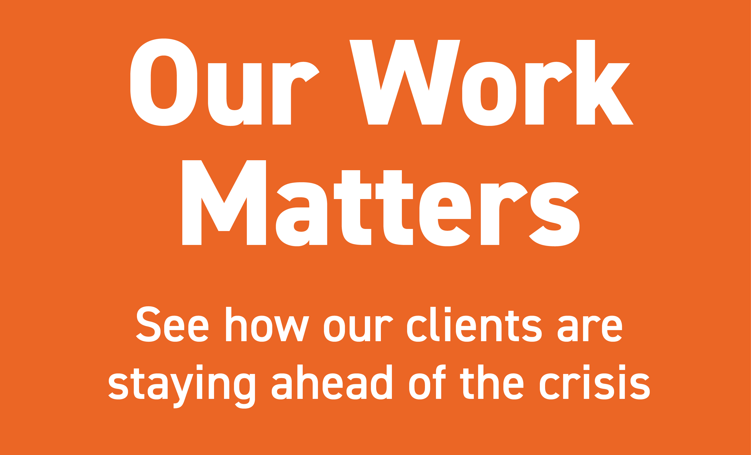 Our Work Matters
