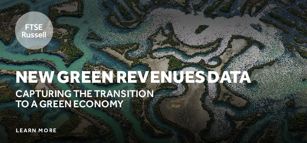 Exposed to the green economy? FTSE Russell launches green revenues data