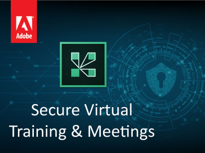secure virtual training and meetings image