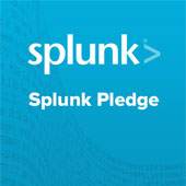 Splunk pledge graphic