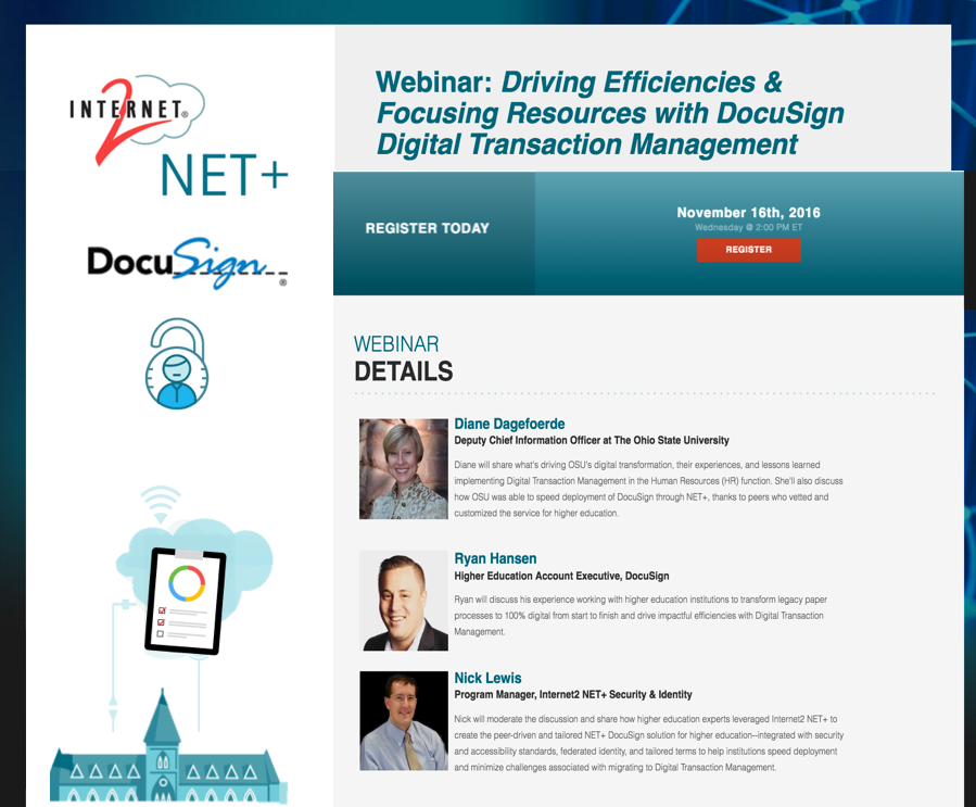 NET+ DocuSign Webinar