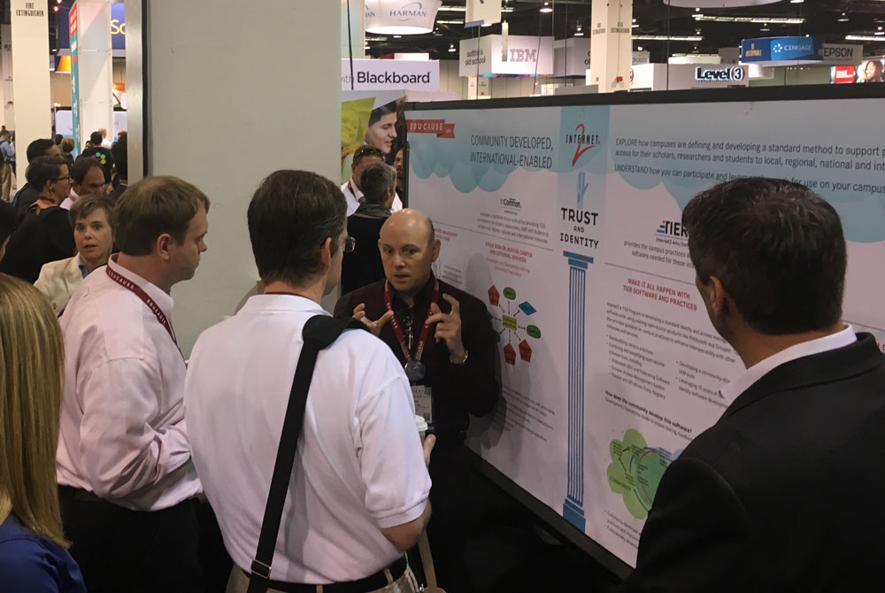 Poster Session at EDUCAUSE 2016