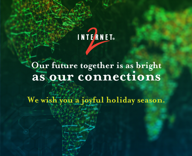 Our future together is as bright as our connections - We wish you a joyful holiday season!
