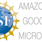 NSF, Amazon, Google, Microsoft graphic
