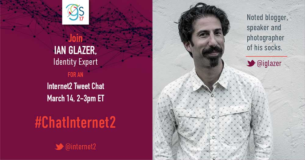 Ian Glazer tweet chat image