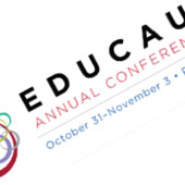 EDUCAUSE conference banner