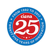 Ciena turns 25 graphic
