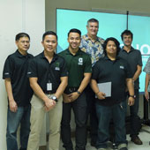 University of Guam GOREX Network team