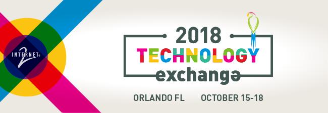 2018 Internet2 Technology Exchange banner