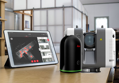 Scanners laser 3D BLK360 and RTC360