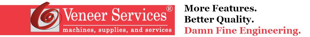 Veneer Services Logo with Slogan