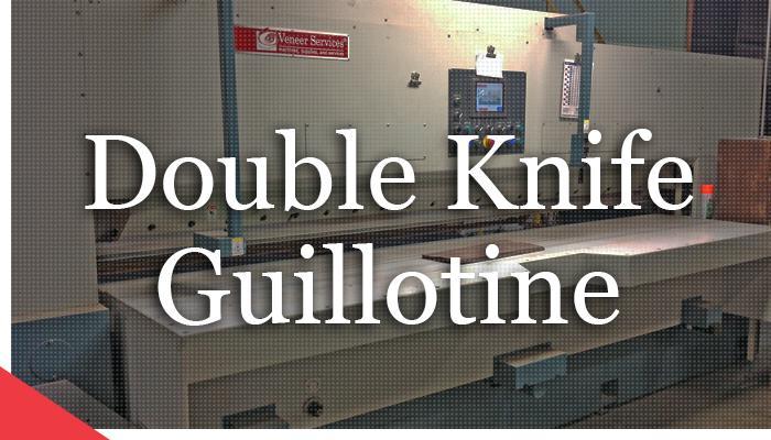 ompec double knife veneer guillotine from veneer services