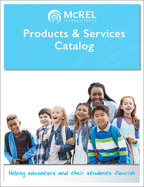 McREL Products & Services Catalog