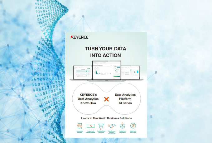 "Data Analytics Platform Ki Series Leaflet ""TURN YOUR DATA INTO ACTION"""