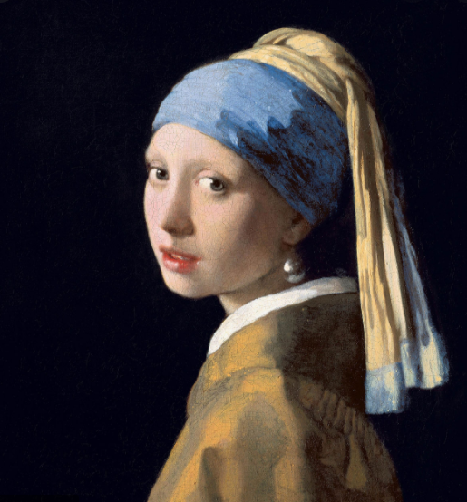 Girl with a Pearl Earring by Johannes Vermeer, c.1665.