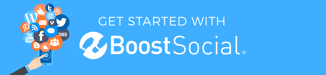 get started with boostsocial