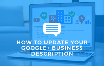 How To Update Your Google+ Business Description