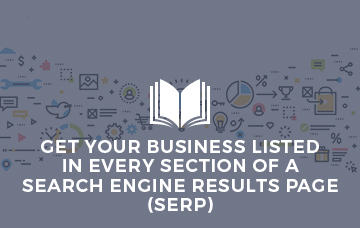 List Your Business In Every Section of a Search Engine Results Page
