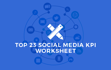 Top 23 Social Media KPI Worksheet