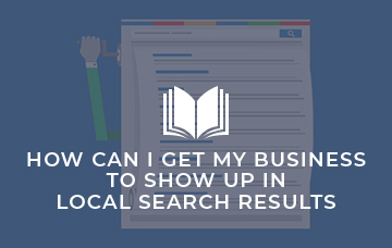 SEO Basics for Local Search Results