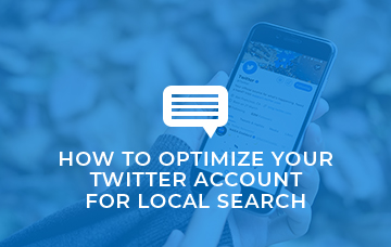 How To Optimize Your Twitter Account For Local Search
