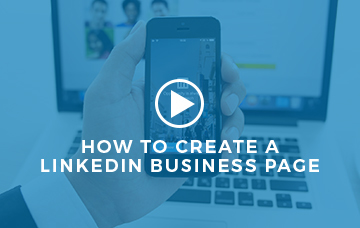 Create A Business LinkedIn Page