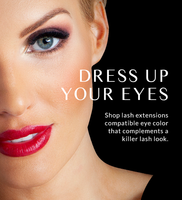 DRESS UP YOUR EYES